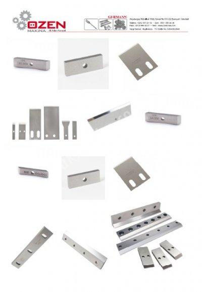 Satılık Sıfır Ehst Performans Bıçakları Fiyatları İstanbul kırma makina,kırma makinaları,plastik kırma,shredder,kırma,granülator,recycling,kırma bıçak,bıçak,granül bıçak,poşet kesme bıçak,yonga bıçak
