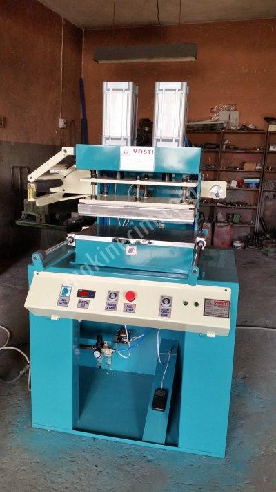 Model Yarı Otomatik Yaldız Varak-Sıcak Baskı-Gofre Baskı Makinası 30 Cm X 50 Cm