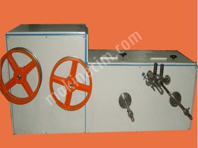 Satılık Sıfır Tel Halat Kablo Sarma Toplama  Makinası (440 -630 Mm) Fiyatları İstanbul tel sarma,tel aktarma,halat sarma,halat boşaltma,tel boşaltma,halat toplama,çelik halat,imalattan makina,sarma makinası,toplayıcı makina,kangallama makinası,metrajlama makinası