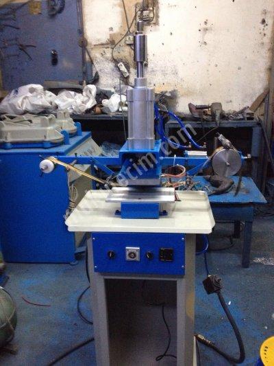 10 Cm X15  Cm Otomatik Mekanik Yaldız Çekmeli Sıcak Baskı Ve Varak Baskı Makinası-----3750 Tl
