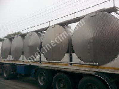 Süt Soğutma Tankı Ve Taşıma Nakil Tankı