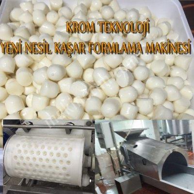 Kaşar Top Misket Peynir Makinesi
