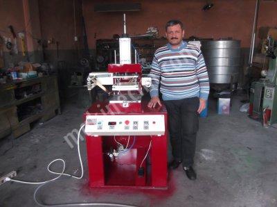 Satılık Sıfır sıcak klişe yaldız baskı makinası Fiyatları Bursa sıcak klişe yaldız varak baskı makinası