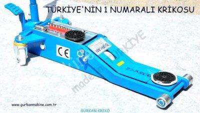 Arabalı Garaj Krikosu 2 Ton Düşük Profilli  Gürkan Formula 2009