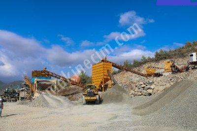 Gelişmiş Son Sistem Maden Kırma Makinaları