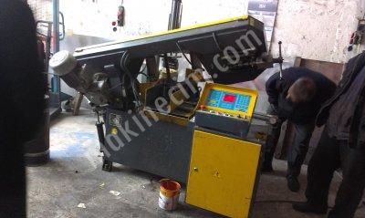 Satılık İkinci El şerit testere-280lik tam otomatik plc sistemli Fiyatları Konya şerit testere