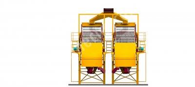 Yüksek Kapasiteli Özel Tasarım İkiz Elek   General Makina