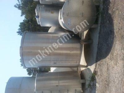 For Sale 2nd Hand stainless steel tank,stainless steel mixer,water tank,black steel tank