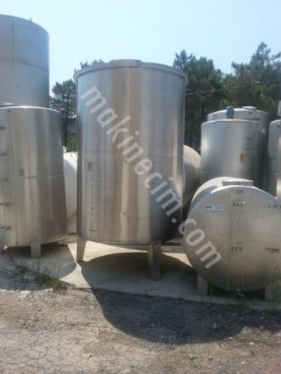 For Sale Second Hand stainless steel tank,stainless steel mixer,water tank,black steel tank
