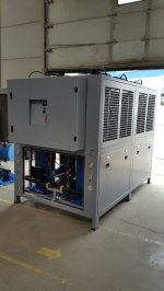 100.000 K.cal. Chiller Soğutma Makinası