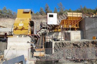 Sabit Komple Kırma Eleme Tesisi Stoktan Teslim 350 T/s Kapasite