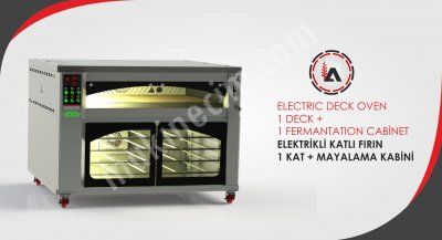 Tasarruflu Elektrikli Taş Tabanlı Katlı Fırın