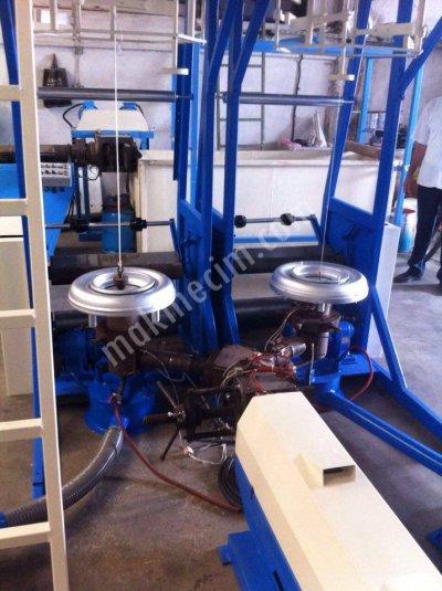 Satılık İkinci El Filmlik Poşet Makinaları (Tek Kafa , Çift Kafa) Fiyatları İzmir poşet,tek kafa,naylon,plastik,extruder,geri dönüşüm
