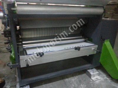125 Cm  (E) Dalga Buharlı Ondüle Makinası