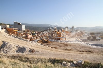 Satılık Maden Kırma Eleme Makinaları   General Makina