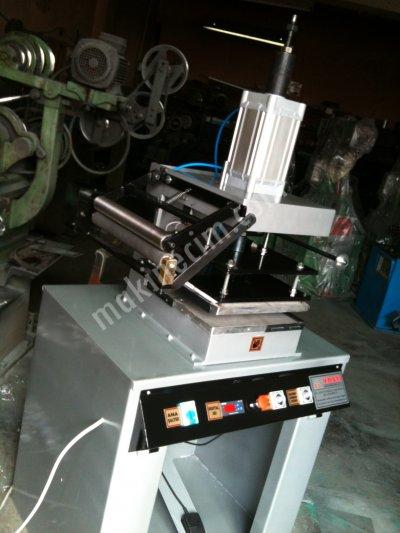 Varak Baskı Sıcak Baskı Makinesi Özel İmalat Profesyonel Modeller