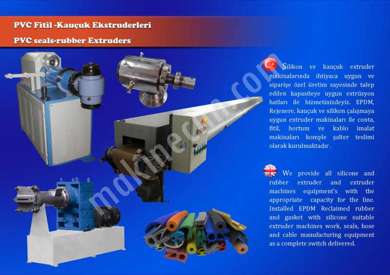 RUBBER SİLİCONE EXRUSİON MACHİNES MANUFACTURİNG For Sale New Price