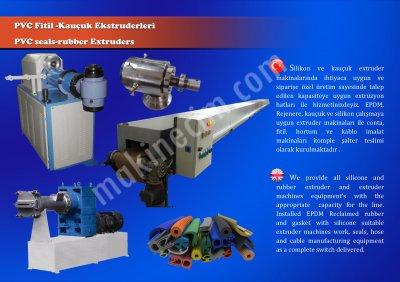 Satılık Sıfır KAUÇUK SİLİKON EXTRÜZYON MAKİNALARI ÜRETİM HATLARI Fiyatları İstanbul epdmkauçuk extruder,nitril kauçuk extrüzyon,kauçuk hortum,silikon kablo,silikon hortum,medikal hortum,silikon fitil,makina imalatı,imalat hattı,üretim makinası,kauçuk zemin,kaplama makinası