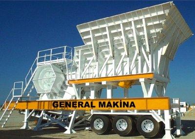 Gnrk M110 Mobil Çeneli Kırıcıları General Makina