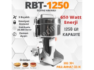 Tarhana Milling Machines 1.250 Gr