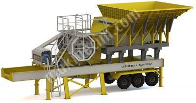 Gnrk M90 Çeneli Kırıcı Mobil Primer Ünite General Makina
