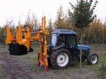 Traktör Ve Mini Ekskavatör İçin Ağaç Sökme Makinesi