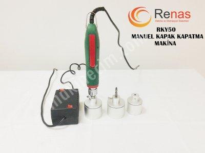 Rky50 Elektrikli Manual Kapak Kapatma Makinası