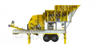 Gnr Mbs100 Yeni Nesil Mobil Beton Santrali General Makina