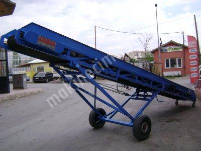Satılık Sıfır KONVEYÖR YÜKLEME BANTI Fiyatları Mersin yükleme bantı konveyör band taşıyıcı çuval yükleme