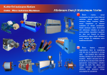 Cable-Wire İnsulation Extrusion Machines