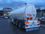 2015 Model Bpw Dingil Adr Dorseli Üstten Dolum Alüminyum Tanker