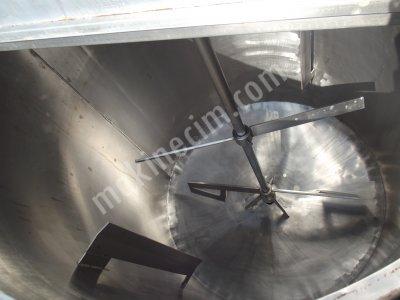 Paslanmaz Krom Karıştırıcı Kazan-Mikser-Tank-Depo Satılık