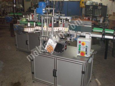 Çift Taraflı Etiketleme Makinesi