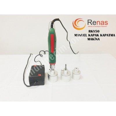 Şişe Kapağı Kapatma Makinesi (Rky-50)