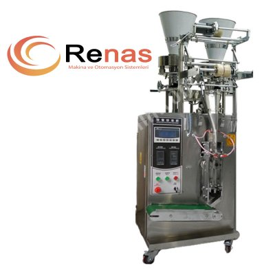 Satılık Sıfır TAM OTOMATİK ÇİFT KAFALI GRANÜL PAKETLEME MAKİNASI (RPM60G) Fiyatları İstanbul paketleme makinası