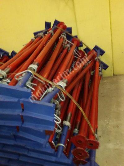 2.el İnşaat Kalıp Malzemeleri Plywood Teleskopik Direk