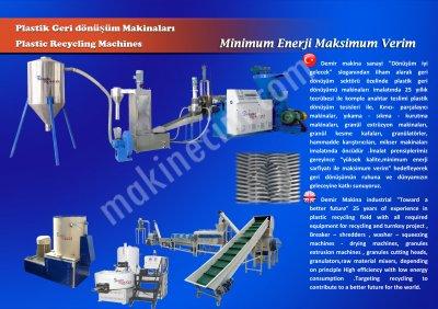 Plastik Dönüşüm Makinaları (120 Lık Bodinoz)