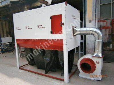 10000 Cubic Meters Of Sawdust Collection System, Dust Extraction Equipment