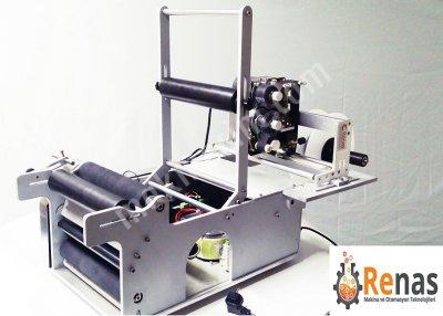 %100 Yerli Üretim Kavanoz Etiketleme Makinası