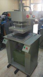 Hidrolik Sıcak Baskı-Gofre Baskı Makinası -Etiket Yakma Makinası