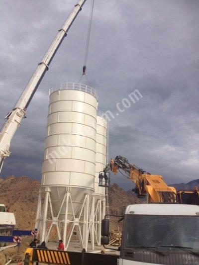 1000 Ton Çimento Silosu