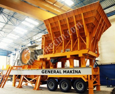 Gnrk M110 Çeneli Kırıcı Mobil Primer  General Makina