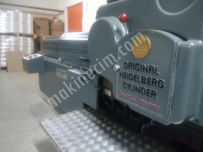 Original Heidelberg Cylinder Kazanlı 56X77