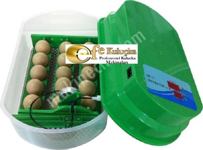 15 Yumurtalık Amatör Kuluçka Makinesi