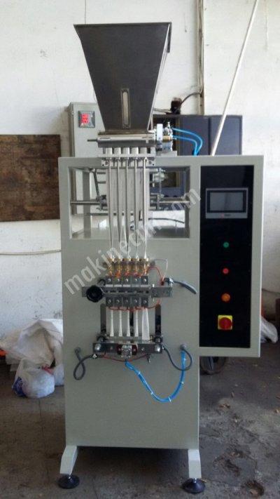 Satılık Sıfır 1-5gr. Stik Şeker Paketleme Makinesi Fiyatları İstanbul stick,şeker dolum,paketleme