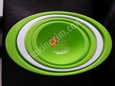Satılık 2. El 4 Boy Oval Kase Seti Fiyatları İstanbul satılık plastik oval mutfak seti