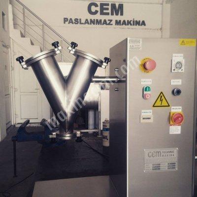 Laboratuar Tipi Toz Ürün Karıştırıcı Mikser