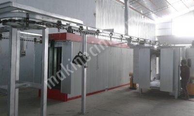 Satılık Sıfır tünel tip konviyörlü tozboya fırın ve kabin ve boya tabancaları Fiyatları İstanbul h.m ,makina.endüstri, ısıtma ,sistemleri,