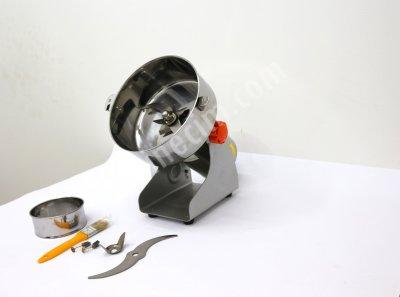 Bitki Öğütücü 3 Bıçaklı Paslanmaz Keten Tohumuöğütme Makinası 1.250 Gr