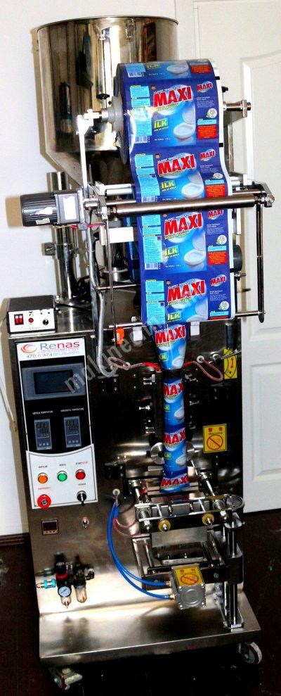 Satılık Sıfır LAVABO AÇICI PAKETLEME MAKİNASI 20,000 ADET KAPASİTELİ Fiyatları İstanbul paketleme makinası,lavabo açıcı,granül paketleme makinası